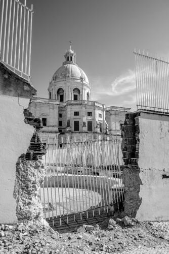 Blick auf das Panteão Nacional