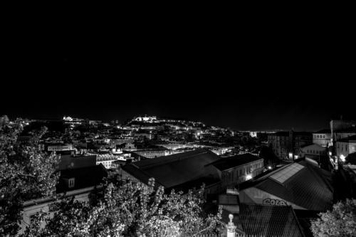 Nacht vom Miradouro São Pedro de Alcântara