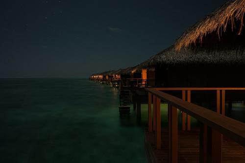 Nacht auf Medhufushi