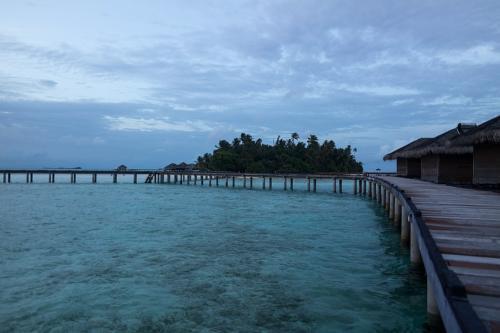 Abend auf Medhufushi