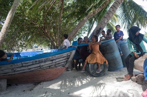 Kinder auf Naalaafushi
