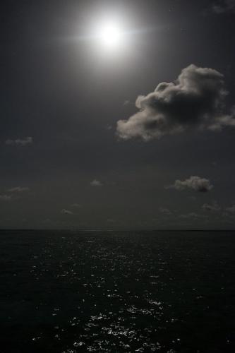 Vollmond auf Medhufushi