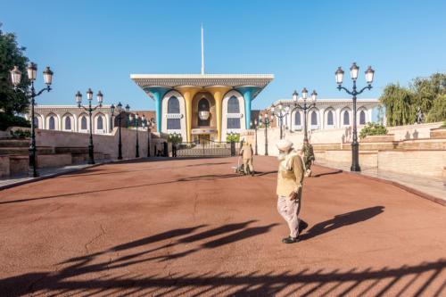 Al-Alam-Palast in Alt-Mascat