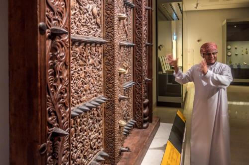 Führer im Nationalmuseum Mascat