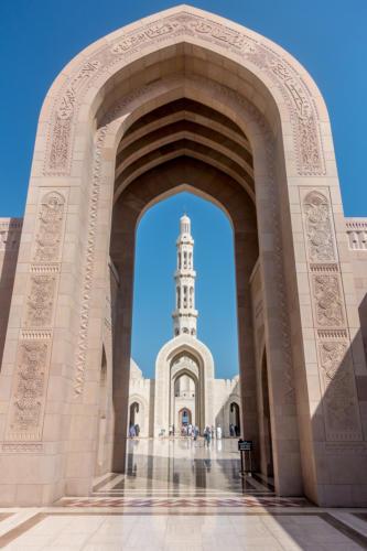Sultan Qaboos Moschee
