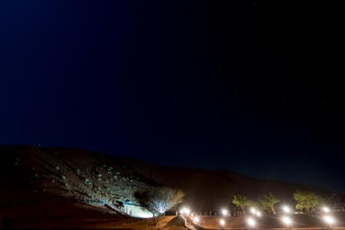 Dünen beim Camp Sama Al Wasil