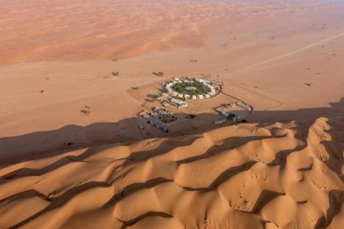 Luftaufnahme Camp Sama Al Wasil