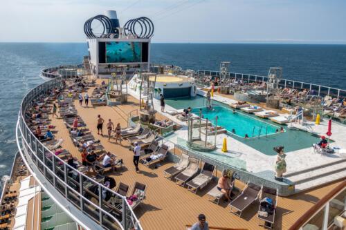MSC Seaview, Panorama Pool
