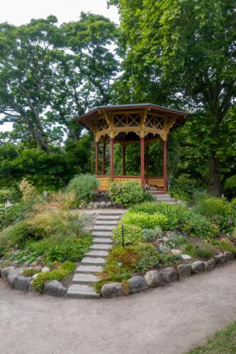 Visby, Botanischer Garten