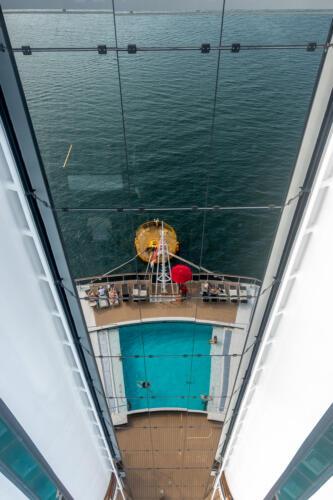 MSC Seaview, Spiegelung