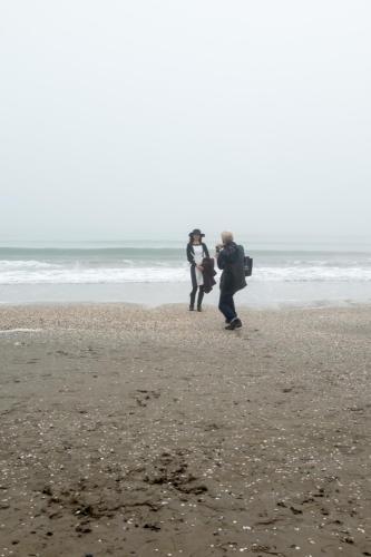 Lido: Am Strand