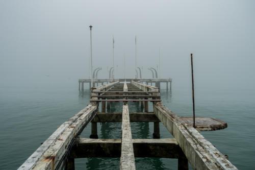 Lido: Ehemalige Seebrücke
