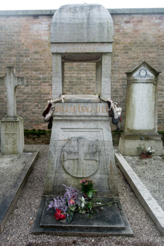 Grab von Sergei Djagilew, Friedhofsinsel San Michele in Isola
