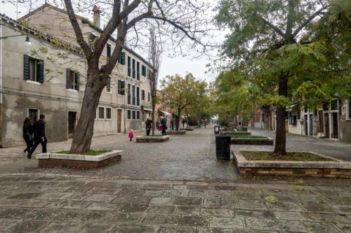 Calle Bressagio in Murano