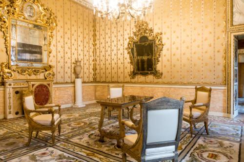 Räumlichkeit der österr. Kaiserin Sisi im Museum Correr