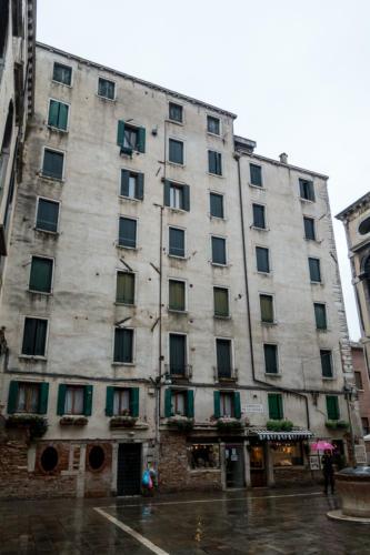 Wohnhaus im Ghetto novo