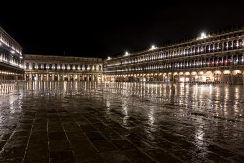 Piazza San Marco im Regen