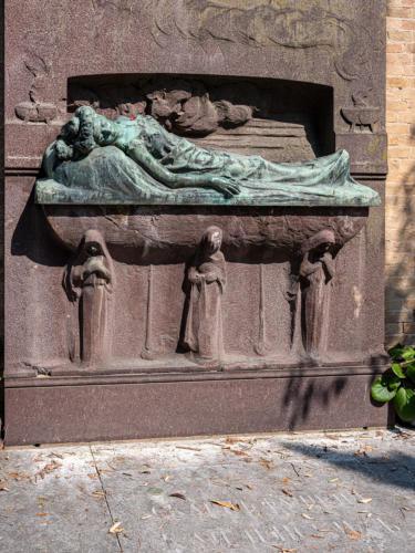 Friedhofsinsel San Michele - Grab von Sophia Kailensky