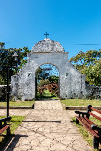 Honduras, Trujillo. Alter Friedhof