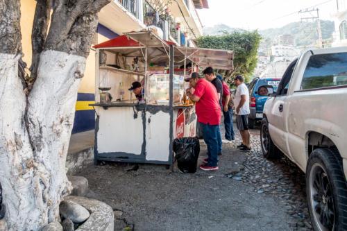 Mexiko, Puerto Vallarta: Imbiss