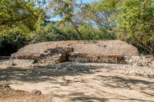 Mexiko, Copalita: Ausgrabung