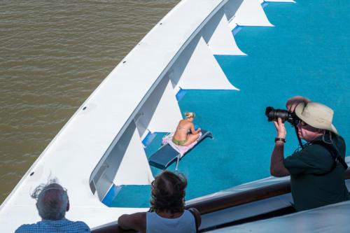 Panamakanal: Blickrichtung