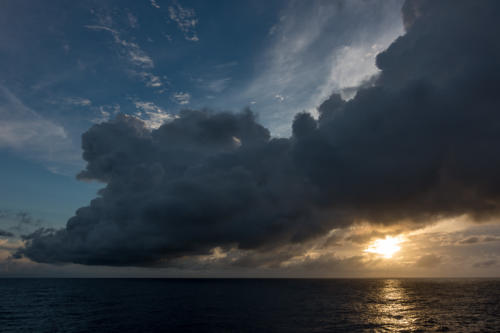 Coral Princess: Sonnenuntergang