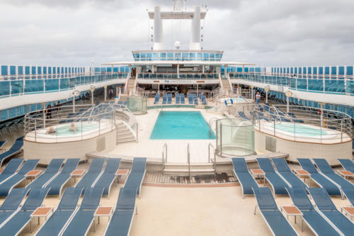 Coral Princess: Pool-Deck